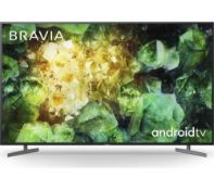 RRP £700 Boxed Sony Bravia 55 Inch 4K Hdr Tv