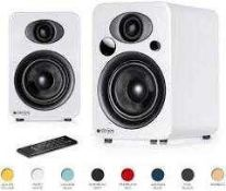 RRP £220 Boxed Steljes Audio Ns3 Powered Loud Speakers For All Audio Sources