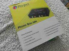 RRP £150 Boxed Pro Next Audio System Phono Box Mm/Mc