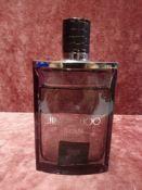 RRP £75 Unboxed 100Ml Tester Bottle On Jimmy Choo Man Eau De Toilette Spray Ex-Display