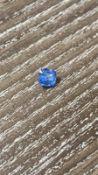 RRP £3000 Blue Sapphire Natrual Corundum 1.13Ct 5.54X5.31X9.96 Faceted Cushion Cornflowere Blue