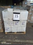 Pallet 15 Combined RRP £1755 Pallet To Contain 135 Vax Commercial Scrubber Drier Detergent 5L All