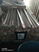 Pallet 2 Combined RRP £3420 Pallet To Contain 380 Round Uni Roller Blind Blue 122X160Cm This Is