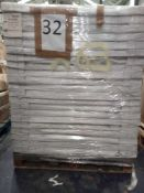 Combined RRP £1575 Pallet To Contain 63 Quinn Type 10 400X1000Cm Panel Radiator All Grade A Slow