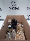 RRP £300 Box To Contain 10 Assorted Ex Display Designer Fragrance Testers In Various Volumes