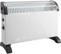 Combined RRP £130 Lot To Contain Three Boxed 2000W Convector Heaters And Boxed 1500W Radiant Panel H