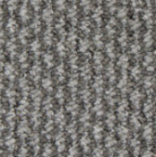 RRP £205 Bagged And Rolled Monsac Light Grey 4M X 5.71 M Carpet (032674)