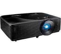 RRP £1,000 Boxed Optoma Hd29Hst Portable Hd Projector