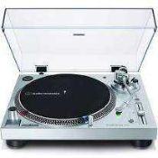 RRP £250 Boxed Audio Technica At-Lp120Xusb Direct Drive Professional Turntable