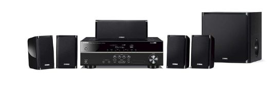 RRP £450 Boxed Yamaha Yht-1840 5.1 Home Theatre Package