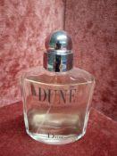RRP £75 Unboxed 100Ml Tester Bottle Of Dior Dune Pour Homme Eau De Toilette Spray Ex-Display