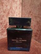 RRP £70 Unboxed 100Ml Tester Bottle Of Narciso Rodriguez For Him Bleu Noir Eau De Parfum Spray Ex-Di