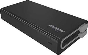 RRP £100 Lot To Contain 2 Boxed Energizer Power Bank For Smartphones, Tablets & More