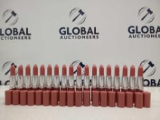 RRP £300 Gift Bag To Contain 18 Brand New Unused Testers Of Clinique Pop Lip Colour + Primer In Vari