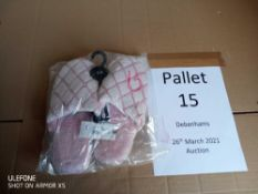 RRP £6348 Pallet To Contain 354 Brand New Tagged Debenhams Fashion Items. Contents In Description