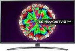 RRP £650 Boxed Lg Nanocell Thinq 49 Inch Smart 4K Uhd Led Tv