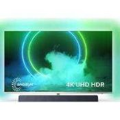RRP £1,300 Boxed Philips 9400 Series 65 Inch 4K Uhd Led Android Tv With Ambilight 3 Sided