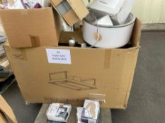 Combined RRP £500 Pallet To Contain Large Assortment Of Household Items To Include Cooke&Lewis Taps