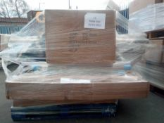 Combined RRP £800 Pallet To Contain Large Assortment Of Items To Include John Lewis Curtain Poles