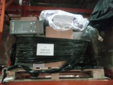 Combined RRP £500 Pallet To Contain Toilet Accessories, An Assortment Of Lights, Cooke & Lewis