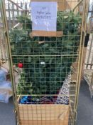 Combined RRP £400 Cage To Contain Designer Christmas Decorations To Include Tree Baubles In Assorted