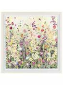 RRP £225 Framed John Lewis Will Stafford Flower Painting