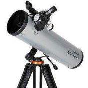 RRP £200 Boxed Celestron Explorer Lt 80Mm Az Refractor Telescope