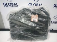 Combined RRP £130 Lot To Contain Two Bagged And Sealed Mat And Nat Phoenix Bag In Black