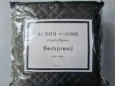 Combined RRP £140 Lot To Contain Two Bagged And Zipped Alison At Home Bedspreads 250X260Cm