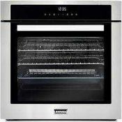 RRP £150 Boxed Single Sized Oven In Stainless Steel