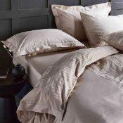 Combined RRP £120 Lot To Contain Two Bagged And Sealed Kelly Hoppen Finest Bed Linens Sets In Kingsi