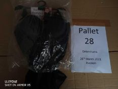 RRP £2910 Pallet To Contain 140 Brand New Tagged Debenhams Fashion Items 7 X Black Beige Padded T-