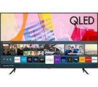 "RRP £600 Boxed Samsung Qe50Q60Tauxxu 50"" Smart 4K Ultra Hd Hdr Qled Tv With Bixby, Alexa & Google As"