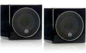 RRP £200 Boxed Gallo Acoustics Micro Se Single 4Inch Sphere Speaker Matt White