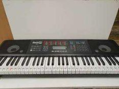 RRP £160 Lot To Contain 2 Boxed Rockjam Musical Keyboards To Include 54 Multi Key And 61 Key Musical