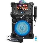 RRP £450 Boxed Fiesta Voice Sining Machine Download Series Bluetooth Portable Kareoke System