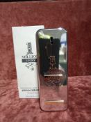 RRP £65 Boxed 100Ml Tester Bottle Of Paco Rabanne 1 Million Lucky Eau De Toilette Spray
