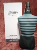 RRP £85 Boxed 125Ml Tester Bottle Of Jean Paul Gaultier Le Male Eau De Toilette Spray