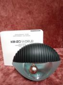 RRP £70 Boxed 75Ml Tester Bottle Of Kenzo World Eau De Parfum