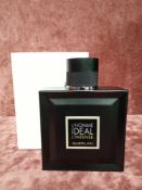 RRP £80 Boxed 100Ml Tester Bottle Of Guerlain L'Homme Ideal Intense Eau De Parfum