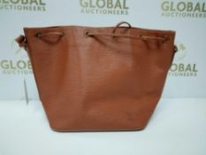 RRP £1270 Louis Vuitton Noe Pm Gold Claf Leather Shoulder Bag (Aao6366)Grade A (Appraisals Available