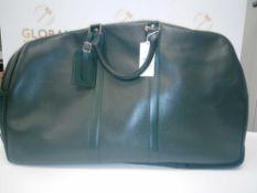 RRP £960 Louis Vuitton Kendall Dark Green Taiga Bag (Aa08337)Grade A (Appraisals Available On