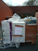 Combined RRP £700 Pallet To Contain Part Lot Furniture Lights Glasses And A Few Electronics