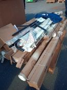 Combined RRP £700 Pallet To Contain Assorted Blinds And Curtains