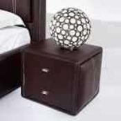 RRP £150 Boxed Victoria Contemporary 2 Draw Faux L