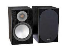 RRP £2100 Boxed Monitor Audio Gold W12 Piano Black