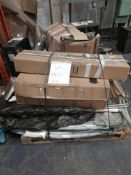 Combined RRP £300 Pallet To Contain Ironing Boards, Dining Chair, Clothes Rack (Appraisals Available
