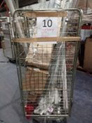 Combined RRP £500 Cage To Contain Blinds, Storage Units And Clothing