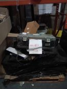 Combined RRP £500 Pallet To Contain Toolbox, Wall Art Canvases, Decorative Mirror (Appraisals