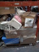 Combined RRP £1000 Pallet To Contain Cabinets, Boiler, Toys, Household Items